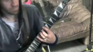 Sacrificial kill guitar cover-Six feet under-by Matt Kannibal Flames