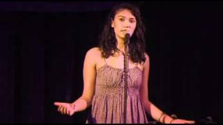 """Sarah Kay performs """"Postcards"""""""