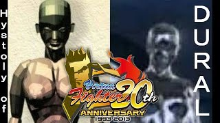 Virtua Fighter Hystoly of DURAL evolution