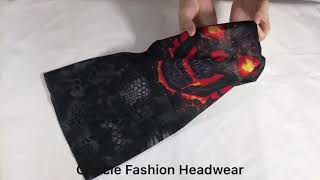 Skull Mask Sun Half Face Mask For Motorcycle Fishing Sports Fashion Face Mask Bandana