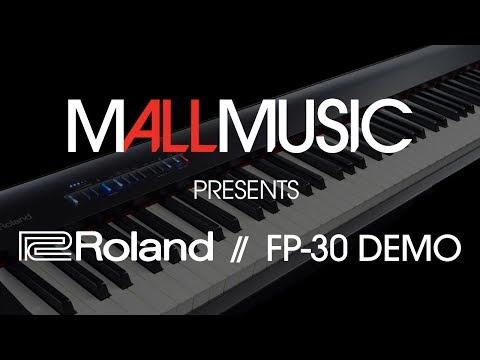 Roland FP30 Keyboard Demo // Mall Music