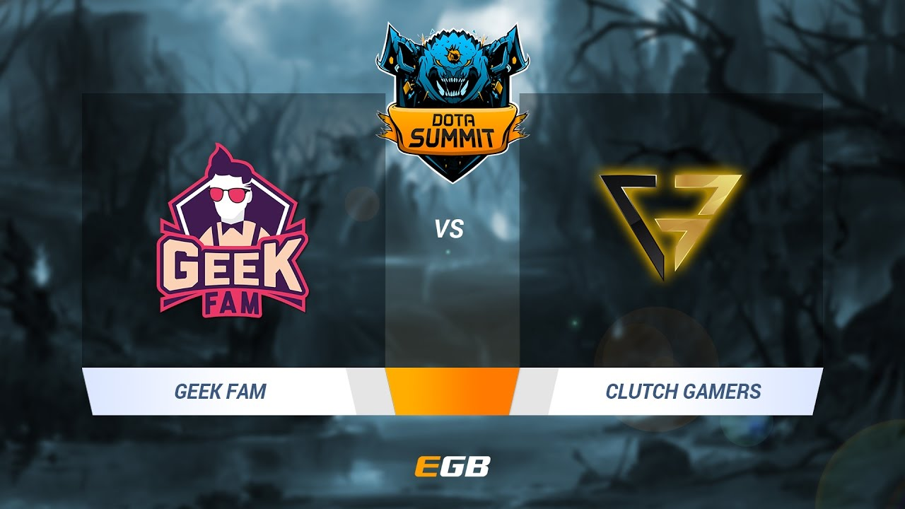 Geek Fam Vs Clutch Gamers SEA Qual Groups