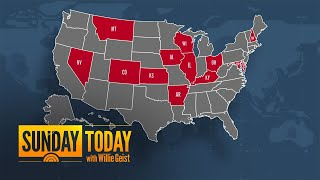 13 States Set Single-Day COVID-19 Records | Sunday TODAY