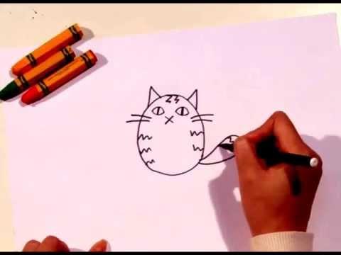 Họa sỹ nhí_Vẽ chú mèo