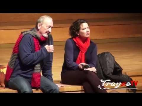 Robert Englund & Heather Langenkamp Q&A Part.2 2013.