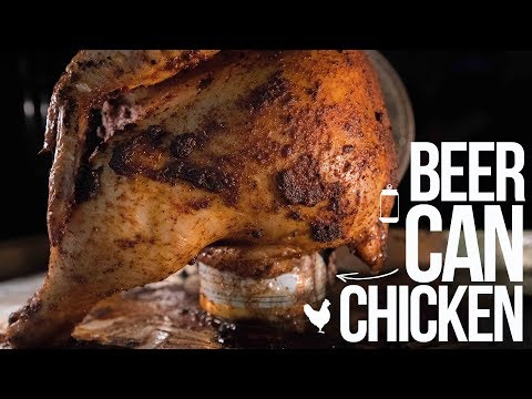 Easy Mexican Beer Can Chicken