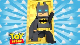 LEGO BATMAN IN THE TOY STORE! Minecraft ToyStore w/LittleKelly thumbnail