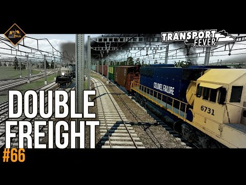 Doubling freight lines | Transport Fever The Alps #66