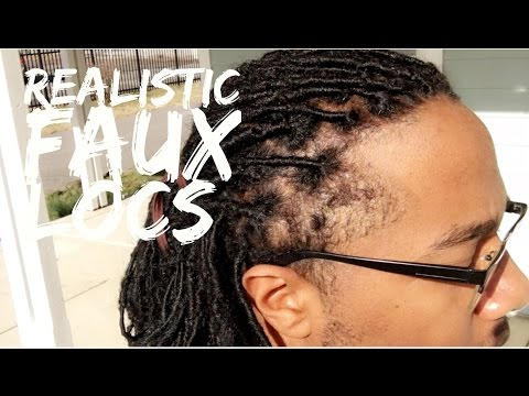 Most Realistic Faux Locs For Men Youtube
