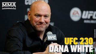 UFC 230: Dana White Post-Fight Press Conference - MMA Fighting