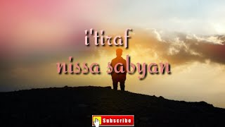 Nissa Sabyan..I'TIRAF(Sholawat )merdu!!