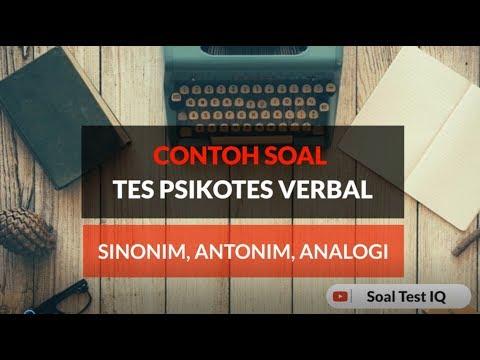 contoh-soal-psikotes-verbal---sinonim-antonim-analogi-verbal