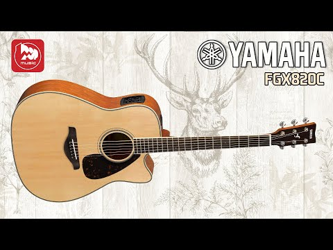 Электроакустическая гитара Yamaha FGX820C