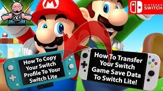 How to Share Your Nintendo Switch Purchases & Save Data Between Your Switch & Switch Lite