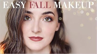 EASY Everyday Fall Makeup Routine�  Drugstore + High End Favorites For A Beautiful, Effortless Look