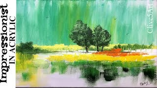 Video Impressionist Trees , Easy Acrylic Painting Tutorial download MP3, 3GP, MP4, WEBM, AVI, FLV Juni 2018