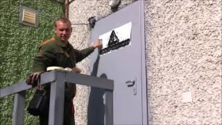 видео Как покрасить наружную металлическую дверь
