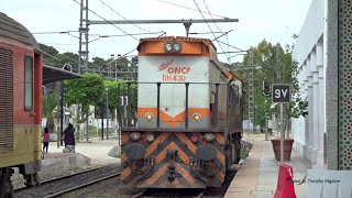 Passenger Trains of Morocco 2017 - قطارات الركاب في المغرب