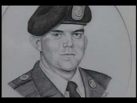 Quinn Unveils Portrait of a Soldier Memorial