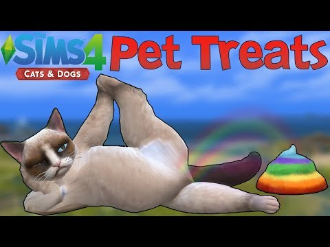The Sims 4 Cats & Dogs: All Pet Treats thumbnail