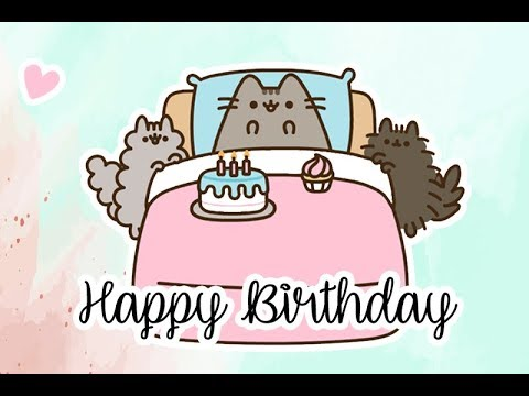 How To Have A PERFECT BIRTHDAY By PUSHEEN The Cat 🎂🎈