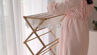 #VLOG 40, 여니브이로그 : 홈카페즐기고 아기용품…