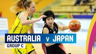 Australia v Japan - Group C - 2014 FIBA U17 World Championship for women