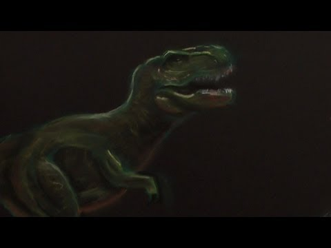 How To Draw A Tyrannosaurus Rex (Narrated)