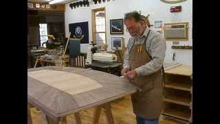 Making A Veneered Executive Desk Part 4-6, Prepping To Finish: Andrew Pitts~furnituremaker