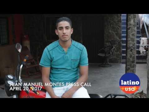 Juan Manuel Montes April 20 Press Call