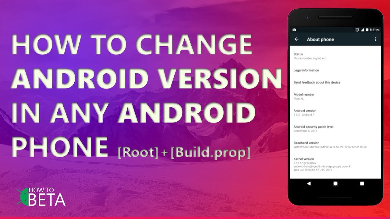 How To Change Android VERSION in Any Android Phone [Easy][update Android]  [Root]