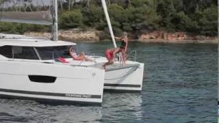 Fountaine Pajot sailing catamaran Lucia 40