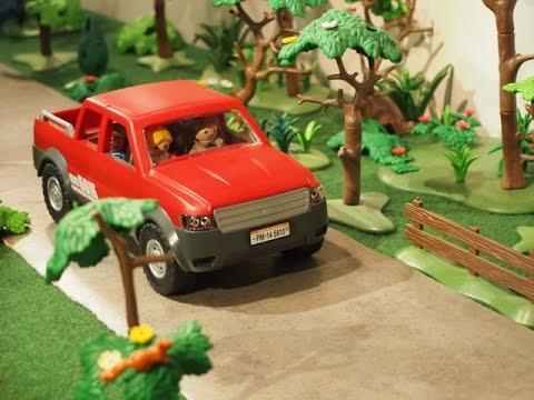 film playmobil la voiture am ricaine youtube. Black Bedroom Furniture Sets. Home Design Ideas