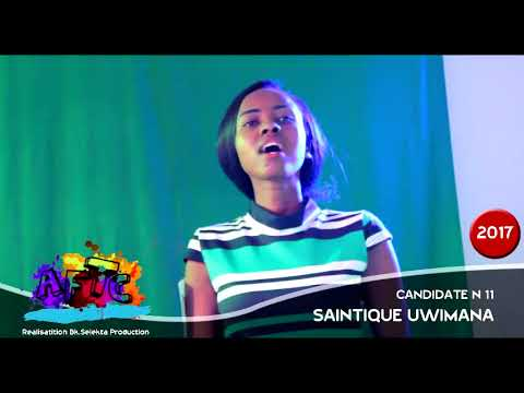 Saintique Uwimana AFTC African Talents Center Casting  2017