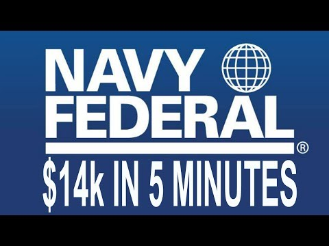 $14K In 5 Minutes From Navy Fed Let Me Show You How