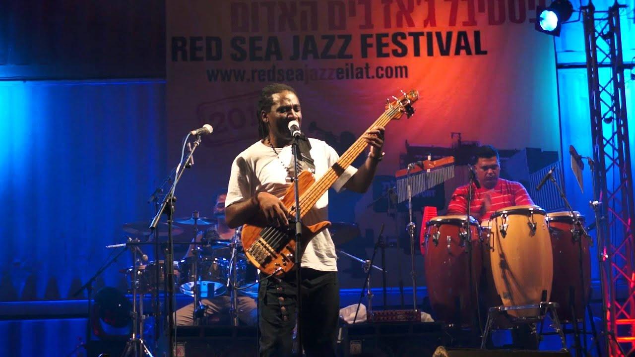 Richard Bona Mandekan Cubano Red Sea Jazz Eilat 2012