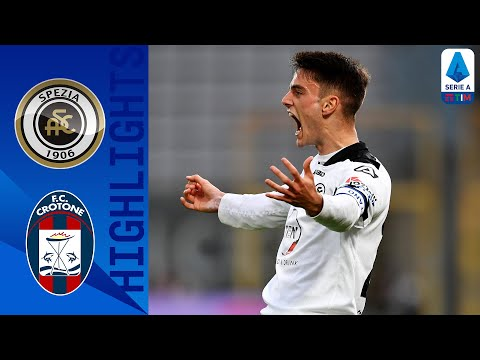 Spezia Crotone Goals And Highlights