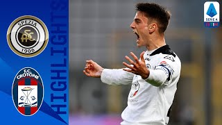 Spezia 3-2 Crotone | Late drama as Spezia overcome Crotone | Serie A TIM