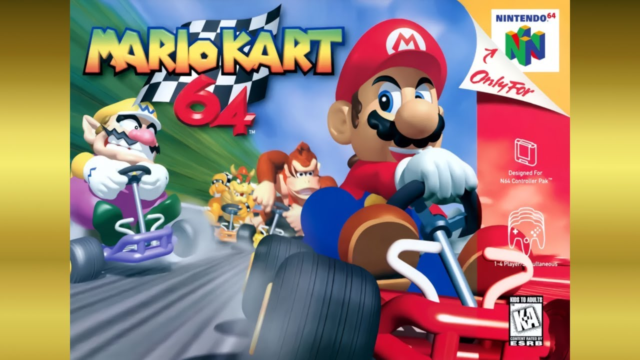 Ranking Results 4th 8th Place Mario Kart 64