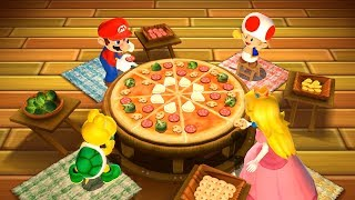 Mario Party 9 MiniGames - Mario Vs Peach Vs Koopa Vs Toad (Master Difficulty)