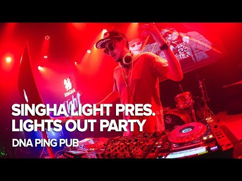Singha Light pres. Lights Out Party at DNA Ping Pub