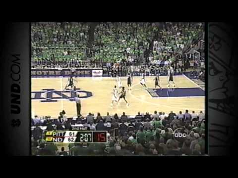 Notre Dame Basketball vs. Pittsburgh - Feb. 9, 2003