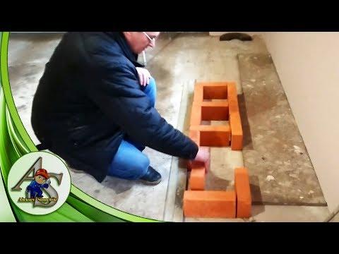 Как сложить печь с пятью колодцами