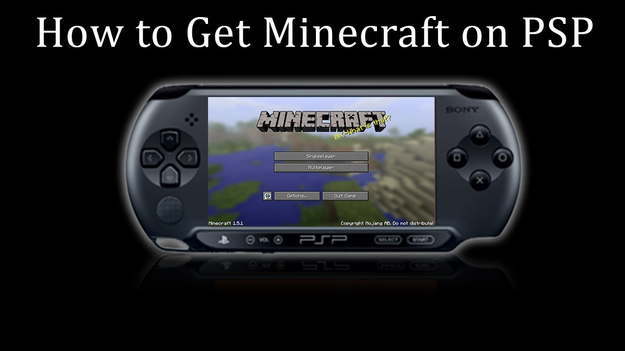 How Much Are Psp : How to get minecraft on psp not lamecraft youtube