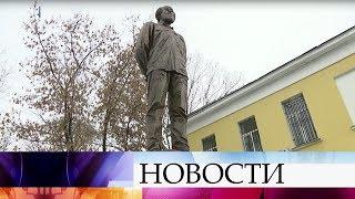 В Москве открыли памятник Александру Солженицыну.