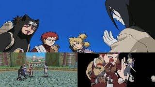 Naruto Gekitou Ninja Taisen! 4 Walkthrough Part 12 - Team Gaara vs Orochimaru 1080p 60 FPS