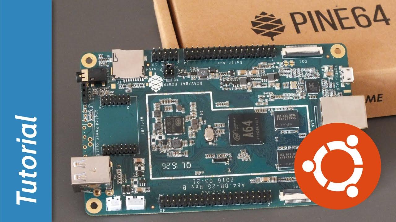 Pine64: una scheda-computer per Linux ed il multimediale  - Ogigia