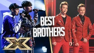 BEST BROTHERS of X Factor through the years | The X Factor