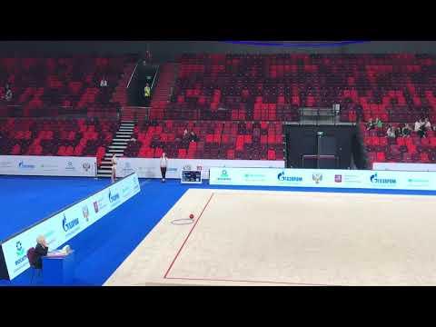 Чемпионат России 2019, Арисова Алина, мяч