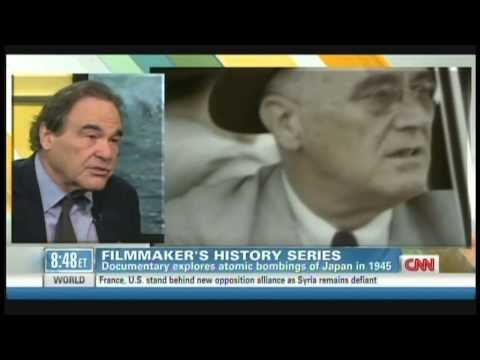 """Oliver Stone """"The Untold History of the United States"""" Soledad O'Brien Interview (Nov 14, 2012)"""